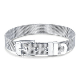 $enCountryForm.capitalKeyWord Australia - 8MM10MM wide exquisite snake bone bracelet stainless steel bracelet watch buckle DIY men and women jewelry discovery