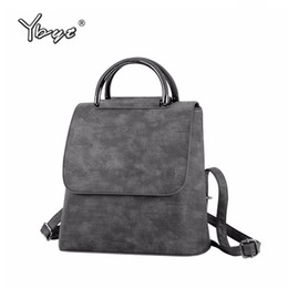$enCountryForm.capitalKeyWord Australia - Ybyt Brand 2018 New Pu Leather Women Rucksack Multipurpose Satchel Female Shopping Shoulder Bags Ladies Casual Travel Backpacks Y19061204