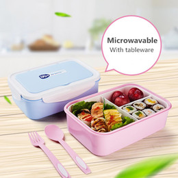 cool kids glasses Australia - Oneup Lunch Box Eco-friendly Portable Food Container With Bags Tableware Microwavable Bento Box For Kids Picnic School Office T8190628