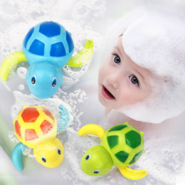 $enCountryForm.capitalKeyWord Australia - Baby Bath Toys Swimming Turtle Toy for Toddler, Wind Up Chain Bathing Water Toy, Swimming Tub Bathtub Pool Cute Swimming Whale Toys