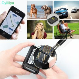 Gsm Mini Devices Australia - TK102B Mini GSM GPRS GPS Quadband Tracker Car GPS Locator Over-speed Alarm Realtime Location Tracker For Vehicle Device GPS Accessories