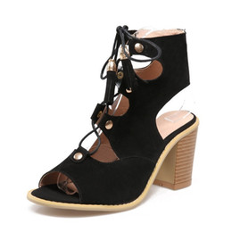 $enCountryForm.capitalKeyWord NZ - Hot2019 Bandage Back High With Cool Boots Will Women's Shoes Summer F - 1