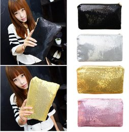 Bolsos glitter online shopping - 4 Colors New Bolsos Clutch Bag Storage Bags Messenger Bag Bolsas Femininas Dazzling Sequin Glitter Handbag Evening Party Bag