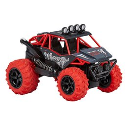 remote control stunt car UK - 2.4GHz RC Off Road Vehicle Radio Remote Control Musical 360 Degrees Charging Stunt Car Climbing Car Model For Kids Toys Gift