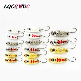 mini jig lures Australia - NEW Mini fishing spoon lures 3CM 1.5g 3g 5g spinnerbsit Minnow small fish bucktail jig metal lure bodies Stream Trout baits hot