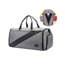 pouch travel clothes 2019 - Travel Men Suit Organizers Bags Business Clothes Underwear Shoes Crossbody Pouch Portable Garment Dustproof Cover Handba