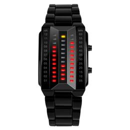 $enCountryForm.capitalKeyWord UK - SKMEI Couple Lover Bracelet Watch Men Women Luxury Stainless Steel Sport Digital Wristwatches Brand Waterproof Relogio Masculino 1013