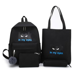 $enCountryForm.capitalKeyWord UK - Letter look in my eyes Girls'bookbag Junior High School Students' schoolbag Lovely Shoulder Bags Teenage Girl Backpacks