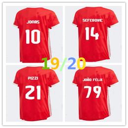 6832c11a3c0 19 20 Benfica soccer jerseys HOME AWAY 2019 2020 JOAO FELIX RAFA Pizzi  Salvio SEFEROVIC JONAS Raul Jimenez GRIMALDO FOOTBALL SHIRTS