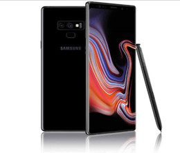 purple cellphone Australia - Samsung Galaxy Note9 N960U Note 9 6.4 inch Snapdragon 845 S Pen 6 8G RAM IP68 Wireless Charge N960U Refurbished phone