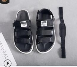 Flip Clips NZ - NEW women's flip-flops 2019 comfort hot style south Korean version beach slippers sandals sandals clip drag men's summer shoes