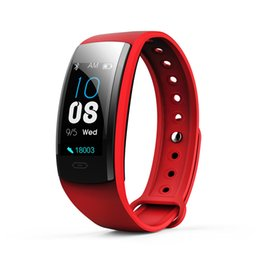 Watch Gps Function Australia - QS90PLUS color screen smart watch heart rate blood pressure blood oxygen sleep health multi-function sports watch FOR: iphone Samsung Huawei