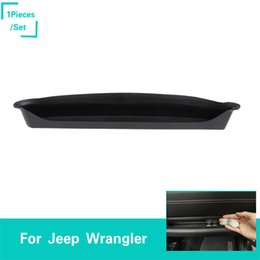 Armrest Storage Box Australia - Black Car Copilot Armrest Storage Box For Jeep Wrangler JL 2018 Factory Outlet High Quatlity Auto Internal Accessories