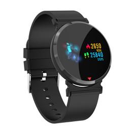 Smart Watch Brown Australia - Heart Rate Monitor Smart Watch Color Ips Screen Pedometer Calorie Sport Fitness Watch Clock Blood Pressure Oxygen Smart Watch Y19051503