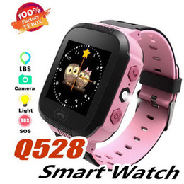 $enCountryForm.capitalKeyWord NZ - Cute Sport Q528 Kids Tracker Smart Watch with Flash Light Touchscreen Call LBS Location Finder for kid Q50 GPS tracker in box