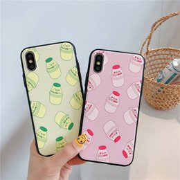 Discount pretty phone covers - Phone Case for Designer Iphone Case Premium PU Cover for Iphone Xs X Xr Xs Max 8 7 6 Plus Shell Fashion Models Printed P