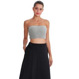 7e4166e1143 Women Summer Casual Women's Tops Cami Off Shoulder Sleeveless Summer Vest Crop  Top Tee M30152