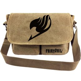 $enCountryForm.capitalKeyWord Australia - Fairy tail messenger bag Lucy Heartfilia sling case End cartoon satchels Sport canvas urick Single shoulder pack Outdoor haversack