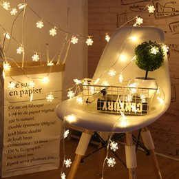 string light garland wholesale NZ - 2m 10led String Light LED Christmas Decor for Home Hanging Garland Christmas Tree Decor Ornament Navidad Xmas Gift New Year