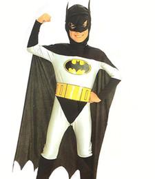 $enCountryForm.capitalKeyWord Australia - Halloween Character Playing Children's Animated Batman Full Set of Cloak, Mask and Clothes