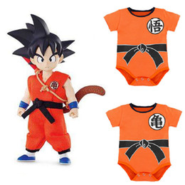 $enCountryForm.capitalKeyWord NZ - Ins Toddler Dragon Ball Romper Halloween Baby Boy Cartoon Sport Casual Jumpsuit Infant Kid Overall Clothes