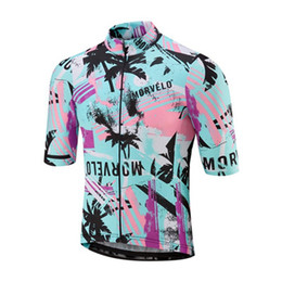 shorts men styles UK - Morvelo Team Cycling jersey summer style ropa ciclismo hombre bike clothes mtb sportswear men pro Road bicycle short sleeve shirt Y052001