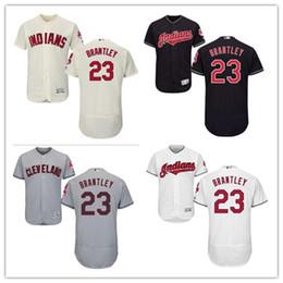8db9e3677 Cleveland #23 Michael Brantley Jersrys Indians men#WOMEN#YOUTH#Men's  Baseball Jersey Majestic Stitched Professional sportswear