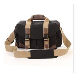 Canvas Dslr Camera Australia - Waterproof and Shockproof Outdoor Travel Special Canvas DSLR Camera Bag Single Shoulder Bag
