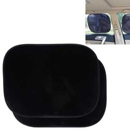 Black Blocks Australia - 2PCS Sun Shades Side Window Sunshade Cover Block Car Static Cling Visor Shield