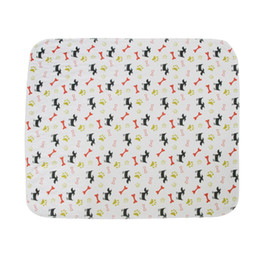 absorbent pads diaper 2019 - Washable Dog Pet Diaper Mat Urine Absorbent Environment Protect Diaper Mat Waterproof Reusable Training Pad Dog Car Seat