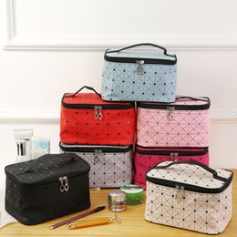 Wholesale Professional Large Make Up Bag Vanity Case Cosmetic Tech Storage Beauty Box New