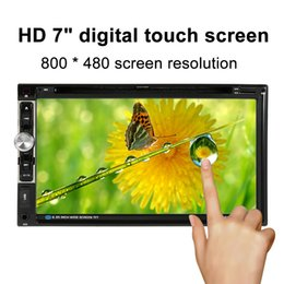 Mobile Interfaces NZ - Freeshipping 2 Din Car Radio 7''In Car DVD Player Touch Screen Charge for USB Devices with Rear View Camera Input Interface for Ford Focus 2