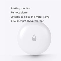 Toptan satış Xiaomi Youpin Aqara Su daldırarak Sensörü Taşkın Su Kaçak Dedektörü Su geçirmez App Akıllı Uzaktan Kumanda Akıllı Ev Güvenlik