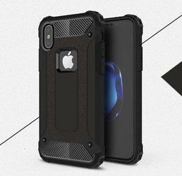 bumper case for cell phones Australia - 2019 Shockproof Case For iPhone XS Max XR X 8 7 6 5 s 5s 6s plus 6plus 7plus 8plus Armored Cell Phone Back Cover Casing Bumper