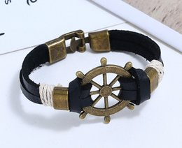 pirates pearl NZ - Designer Bracelets Pirate retro Bracelet Luxury Jewelry Fashion Accessories Wholesale Free shipping 0708012