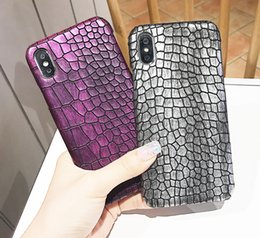 Coque Iphone Luxury NZ - 5 Colors Luxury Crocodile Leather Case For iPhone XS Max Case Hard Back Cover For iPhone XR X 8 7 6 6S Plus Case Coque Fundas
