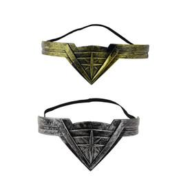 cosplay dc comics 2019 - Classic Superhero DC Comic Headdress Armband Accessory Headband Cosplay Prop 2018 Movie Cosplay Hair Accessories cheap c