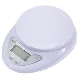 Equilíbrio de Peso Eletrônico Portátil Cozinha Ingredientes Alimentares Escala de Alta Precisão Digital Ferramenta de Medição de Peso com Caixa de Varejo DHL em Promoção