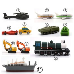 $enCountryForm.capitalKeyWord Australia - Usb Flash Drive 4g 8g 16g 32g 64g Cartoon Car Ship Airplane Tank Excavator Trai Memory Stick Storage Device Pendrive Toy Gift