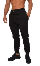 Mens Slim Fit Joggers Fitness Activewear Sports