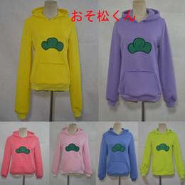 Discount cosplay six - Six Same Faces Osomatsu san Kun Hoodie Jacket Coat Sweatshirt Anime Cosplay Costume