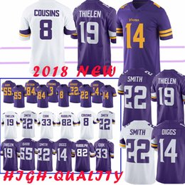b148d715f top 14 Stefon Diggs Minnesota Jersey vikings 8 Kirk Cousin 19 Adam Thielen  22 Harrison Smith 82 Kyle Rudolph 99 DANIELLE HUNTER Jerseys