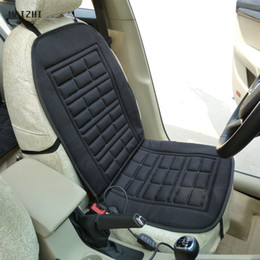 $enCountryForm.capitalKeyWord Australia - Free Shipping high quality New Winter Warmer Car Heated Seat Cushion Hot Cover Heat Heating- 1 Pieces Conjoined car seat warmer