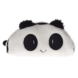 $enCountryForm.capitalKeyWord Australia - 1PC Cute Panda Plush Pencil case Lovely animal Makeup bag pen box for kids gift Stationery pouch school supplies Storage Bag #214663