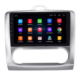 9 pulgadas Puro Android 8.1 Coche DVD Quad Core 16G ROM 1024 * 600 Pantalla Coche Raio Ford Focus 2004-2011 WIFI MIRROR LINK bluetooth auto A / C en venta