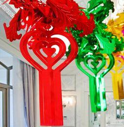 $enCountryForm.capitalKeyWord Australia - Paper Garland Colorful Hanging Flower Cake Card for Kids Birthday Wedding Party Decoration