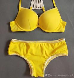 $enCountryForm.capitalKeyWord Australia - Bikini sexy three-point thong beach hot swimsuit girl europeanstyle instagram super exposed flamboyant SAOBikini gathers sexy to show breast