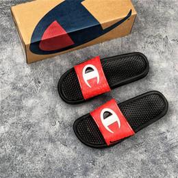 $enCountryForm.capitalKeyWord NZ - brand designer slippers new street style fashion slippers for men high quality summer beach slides hotsale sandals size 40-45