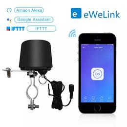 El trabajo de la válvula de control de agua Controlador de válvula de agua Interruptor EWelink inteligente WiFi Inicio Sistema de automatización de gas con Alexa Google en venta