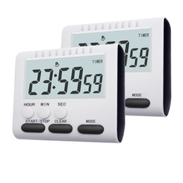 Home Kitchen Set Australia - Multifunctional Kitchen Timer Alarm Clock Home Cooking Practical Supplies Cook Food Tools Kitchen Accessories 2 Colors